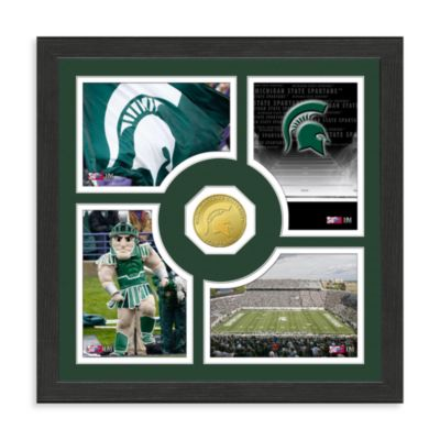 Michigan State University Fan Memories Minted Bronze Coin Photo Frame