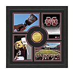 Mississippi State Fan Memories Minted Bronze Coin Photo Frame