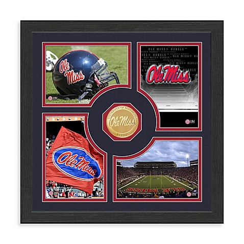 University of Mississippi Fan Memories Minted Bronze Coin Photo Frame