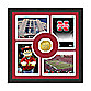 University of Nebraska Fan Memories Minted Bronze Coin Photo Frame