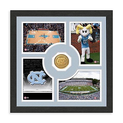 University of North Carolina Fan Memories Minted Bronze Coin Photo Frame