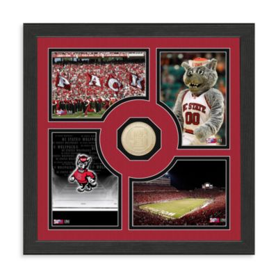 North Carolina State University Fan Memories Minted Bronze Coin Photo Frame
