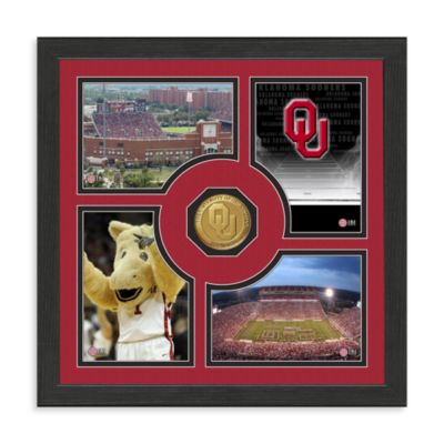 University of Oklahoma Fan Memories Minted Bronze Coin Photo Frame