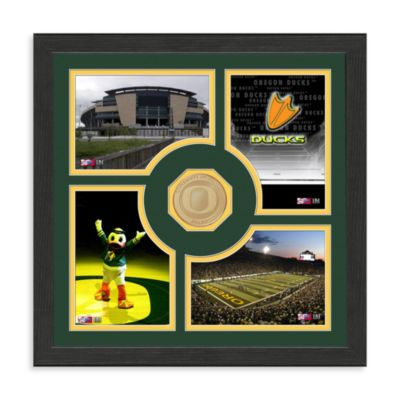 University of Oregon Fan Memories Minted Bronze Coin Photo Frame