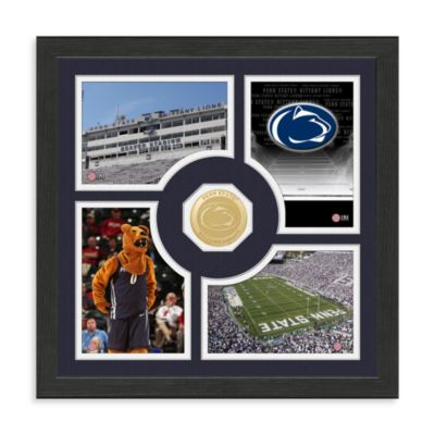 Penn State Fan Memories Minted Bronze Coin Photo Frame