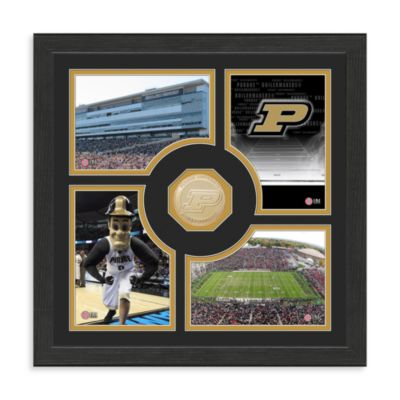 Purdue University Fan Memories Minted Bronze Coin Photo Frame