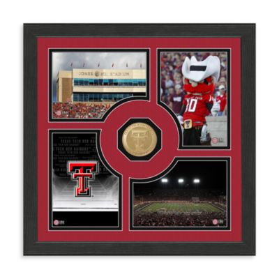 Texas Tech Fan Memories Minted Bronze Coin Photo Frame