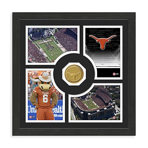 University of Texas Fan Memories Minted Bronze Coin Photo Frame