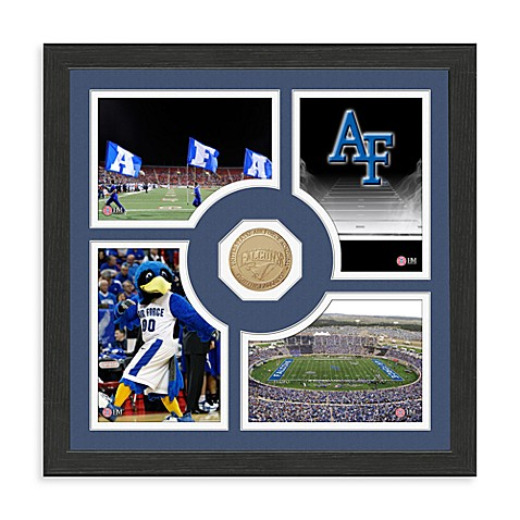 United States Air Force Fan Memories Minted Bronze Coin Photo Frame