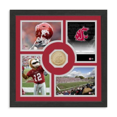 Washington State University Fan Memories Minted Bronze Coin Photo Frame