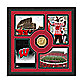 University of Wisconsin Fan Memories Minted Bronze Coin Photo Frame