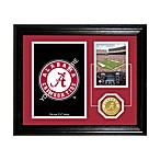 University of Alabama Fan Memories Desktop Photo Mint Frame