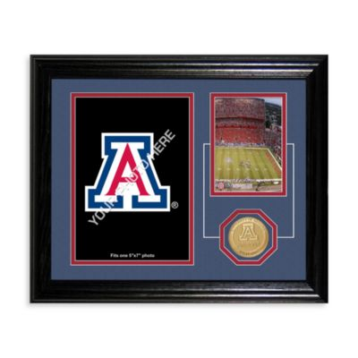 University of Arizona Fan Memories Desktop Photo Mint Frame