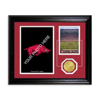 University of Arkansas Fan Memories Desktop Photo Mint Frame