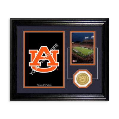 Auburn University Fan Memories Desktop Photo Mint Frame