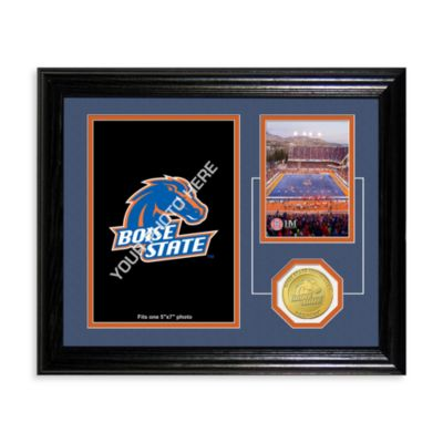 Boise State University Fan Memories Desktop Photo Mint Frame