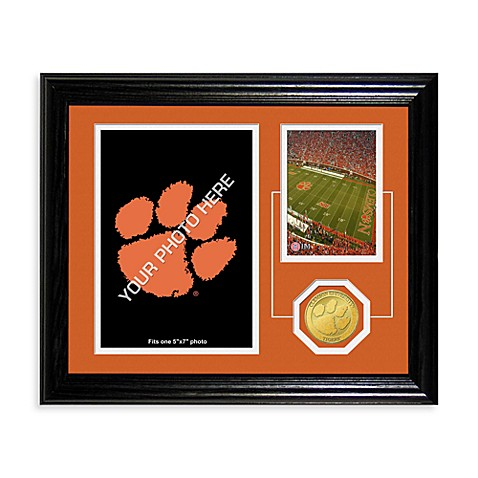 Clemson University Fan Memories Desktop Photo Mint Frame