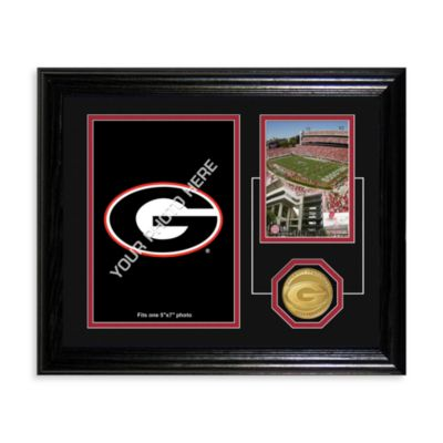 University of Georgia Fan Memories Coin Desktop Mint Frame