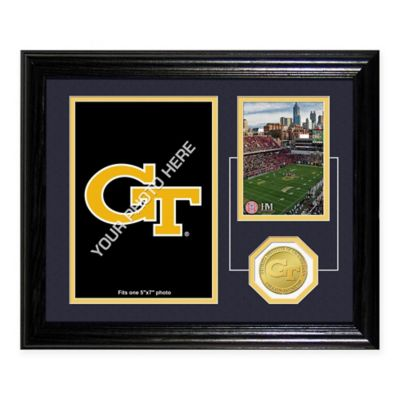 Georgia Tech Fan Memories Desktop Photo Mint Frame