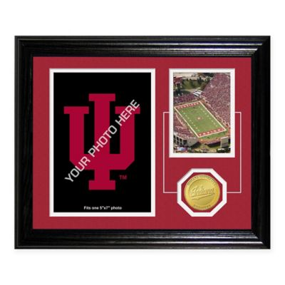 University ofindiana Fan Memories Coin and Stadium Photo Mint