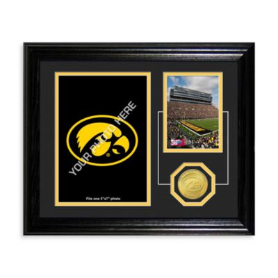 University of Iowa Fan Memories Coin and Stadium Photo Mint