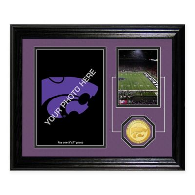 Kansas State Fan Memories Desktop Photo Mint Frame
