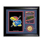 University of Kansas Fan Memories Desktop Photo Mint Frame