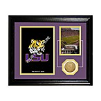 Louisiana State University Fan Memories Coin and Stadium Photo Mint