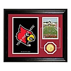 University of Louisville Fan Memories Desktop Photo Mint Frame
