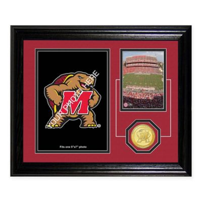 University of Maryland Fan Memories Desktop Photo Mint Frame