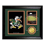 University of Miami Fan Memories Desktop Photo Mint Frame