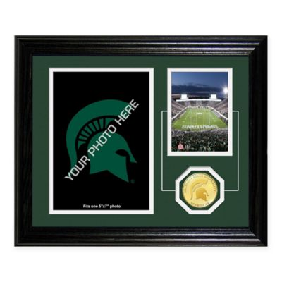 Michigan State University Fan Memories Desktop Photo Mint Frame
