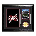 Mississippi State Fan Memories Desktop Photo Mint Frame