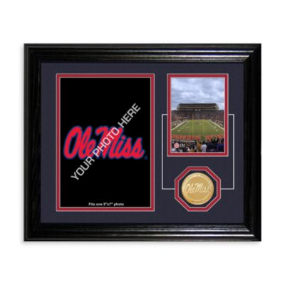 University of Mississippi Fan Memories Desktop Photo Mint Frame