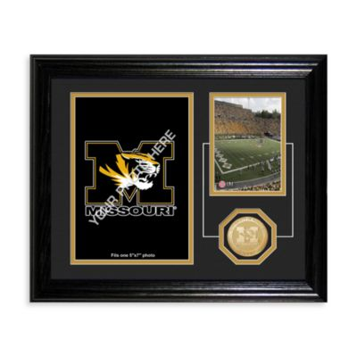 University of Missouri Fan Memories Desktop Photo Mint Frame