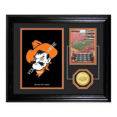 Oklahoma State Fan Memories Desktop Photo Mint Frame