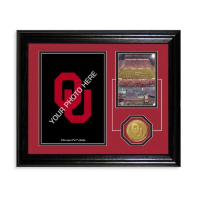 University of Oklahoma Fan Memories Desktop Photo Mint Frame