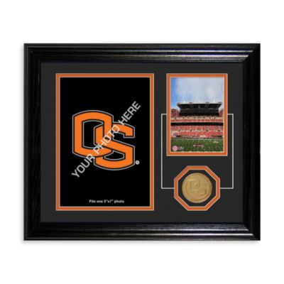 Oregan State University Fan Memories Desktop Photo Mint Frame