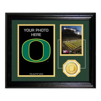 University of Oregon Fan Memories Desktop Photo Mint Frame