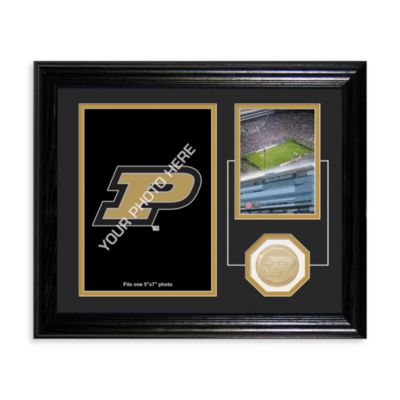 Purdue University Fan Memories Desktop Photo Mint Frame