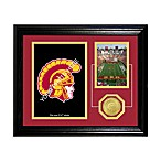 University of Southern California Fan Memories Desktop Photo Mint Frame