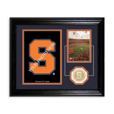 Syracuse University Fan Memories Desktop Photo Mint Frame