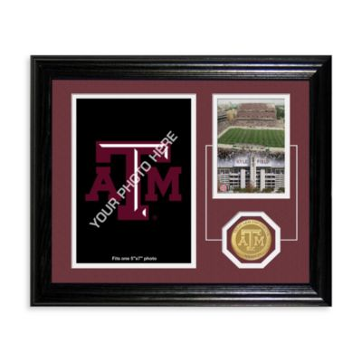 Texas A&M Fan Memories Desktop Photo Mint Frame