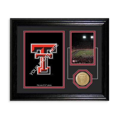 Texas Tech University Fan Memories Desktop Photo Mint Frame