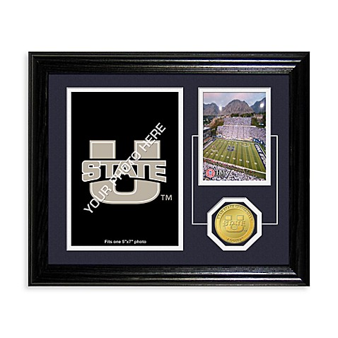 Utah State University Fan Memories Desktop Photo Mint Frame
