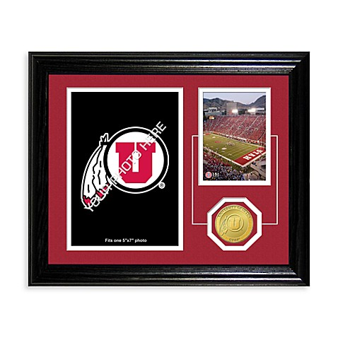 University of Utah Fan Memories Desktop Photo Mint Frame