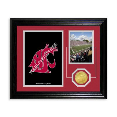 Washington State University Fan Memories Desktop Photo Mint Frame