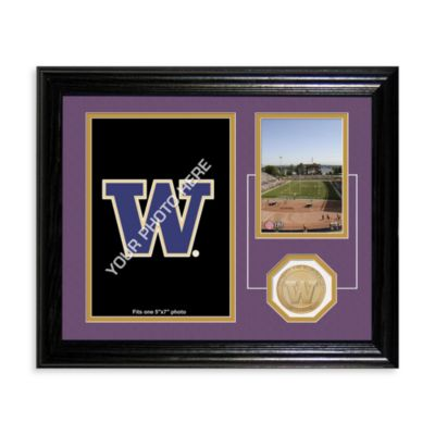 University of Washington Fan Memories Desktop Photo Mint Frame