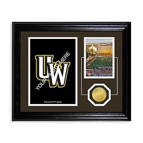 University of Wyoming Fan Memories Desktop Photo Mint Frame