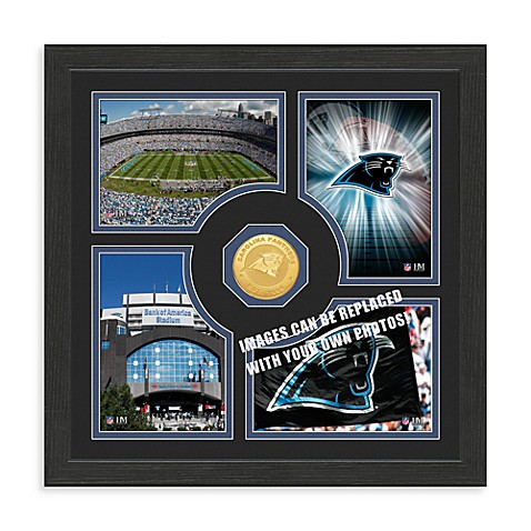 Carolina Panthers NFL® Fan Memories Coin Wall Frame